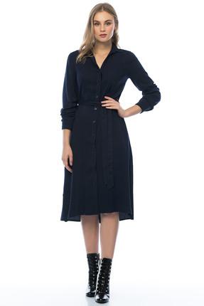 Pitti Kadın Lacivert Gömlek Elbise 50992