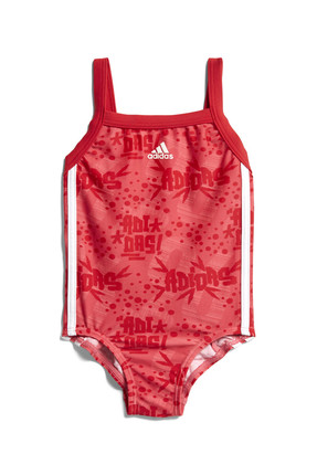 adidas Kırmızı Kız Bebek Mayo