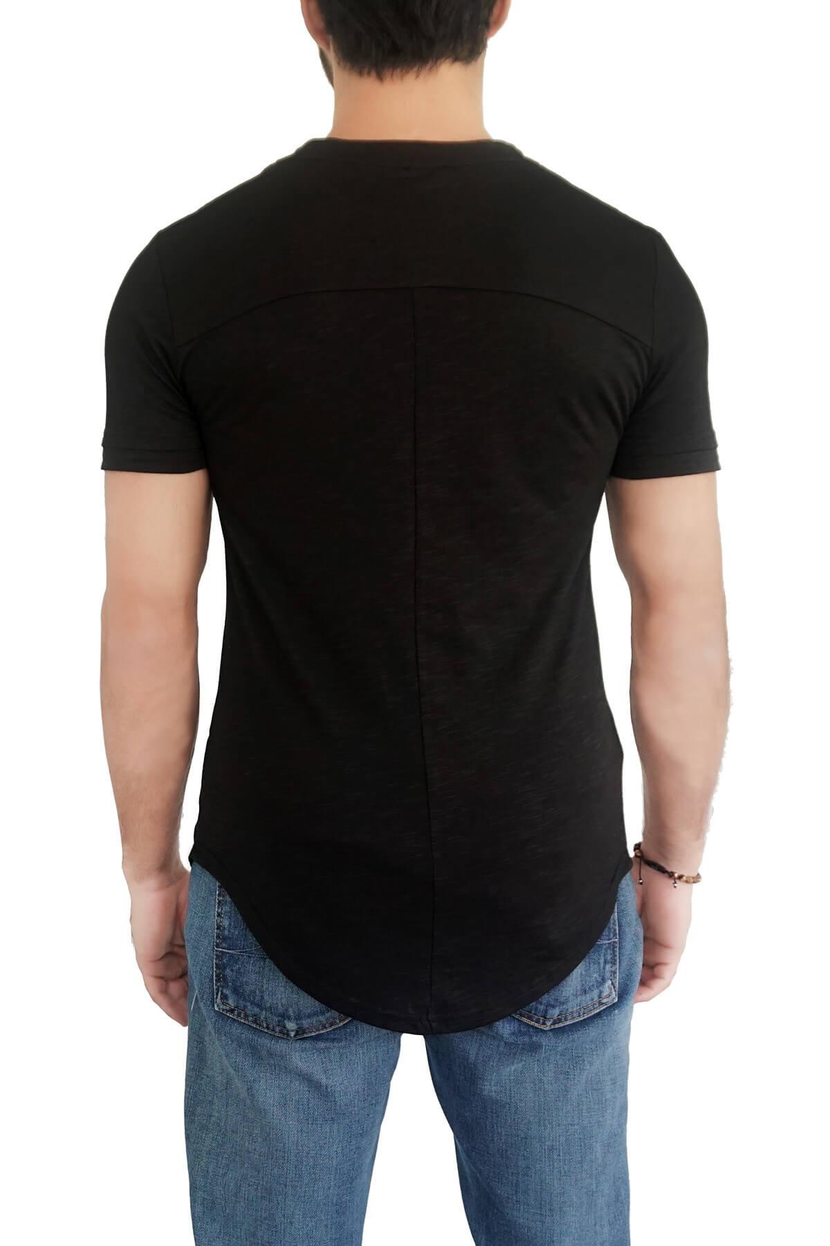 MOF Erkek Siyah T-Shirt ÇVYÇKT-S 2