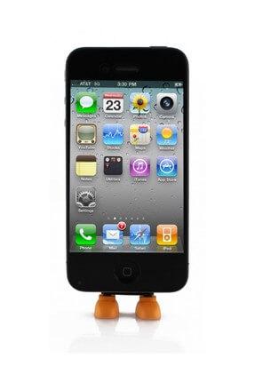Eiroo iPhone Turuncu Toz Önleyici Ayaklık