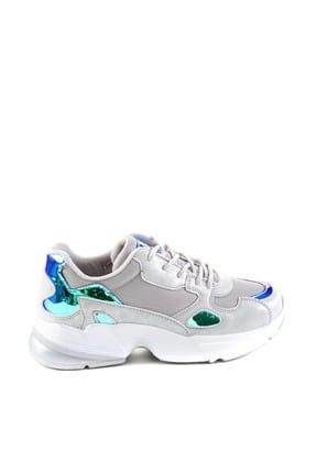 Bambi Gümüş Kadın Sneaker H06136260