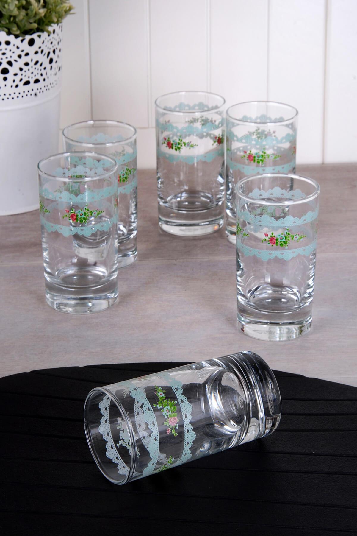 LA VİTA BUONE Kahve Yanı Su Bardağı Vintage A-ACR-033 1