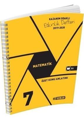 Hız Yayınları 7. Sınıf Matematik Etkinlik Defteri