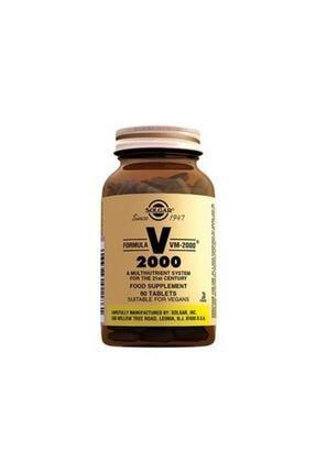Solgar Vm 2000 Multivitamin 90 Tablet