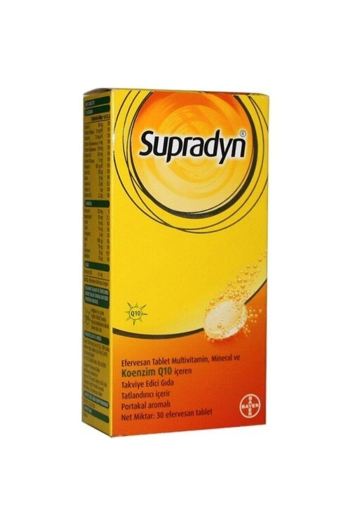 Supradyn Coenzim Q10 30 Efervesan Tablet 1