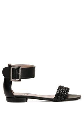 İnci Kıss.z 1fx Siyah Kadın Sandalet