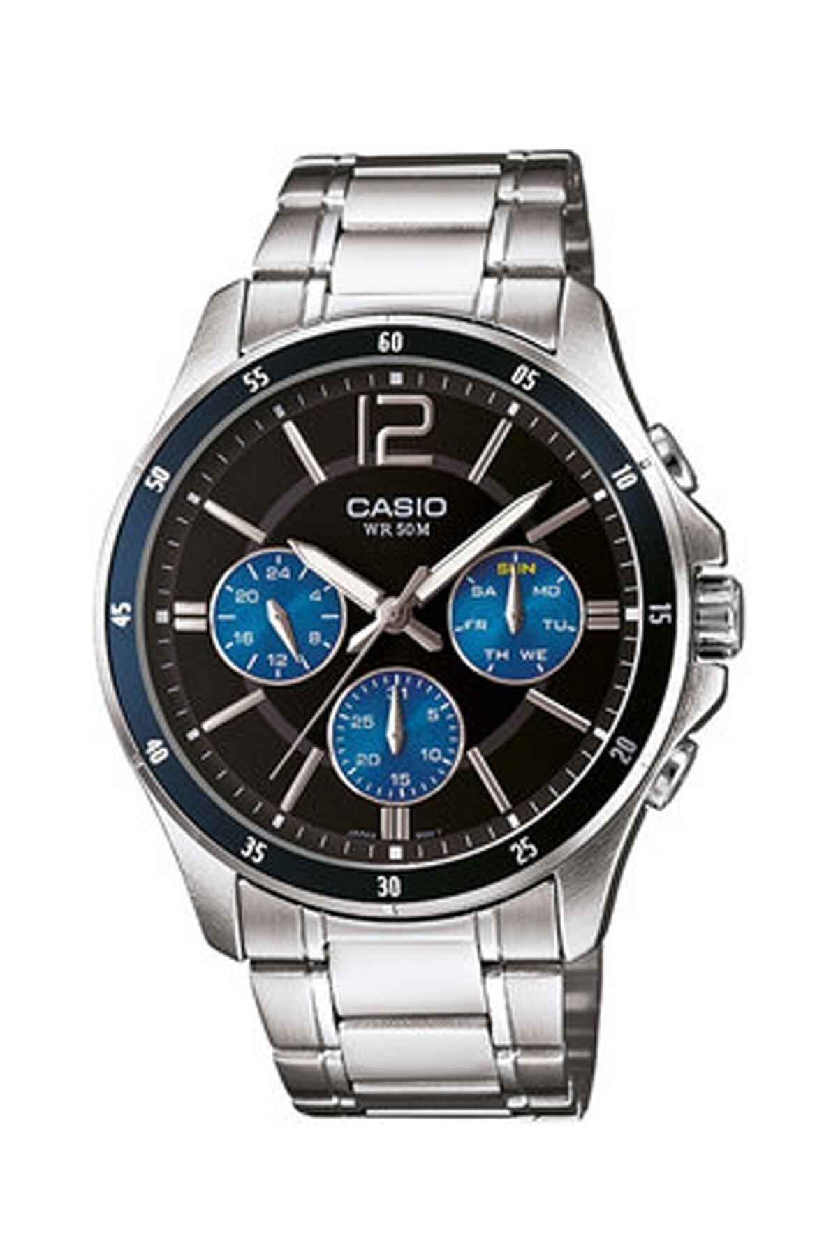 Casio Mtp-1374d-2avdf Erkek Kol Saati Çelik 1
