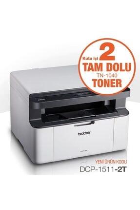 Brother A4 Mono Dcp-1511-2t Laser Yazıcı Tarayıcı Fotokopi 20sayfa Usb 2.0 2 Adet Tonerli