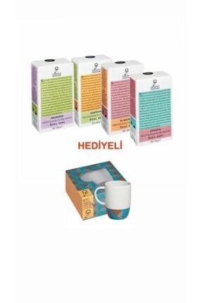 Mehmet Efendi Filtre Kahve 250 Gr 4'lü Set + Porselen Kupa
