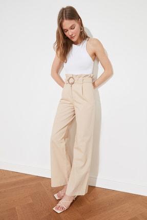 TRENDYOLMİLLA Taş Kemerli Pantolon TWOSS21PL0163