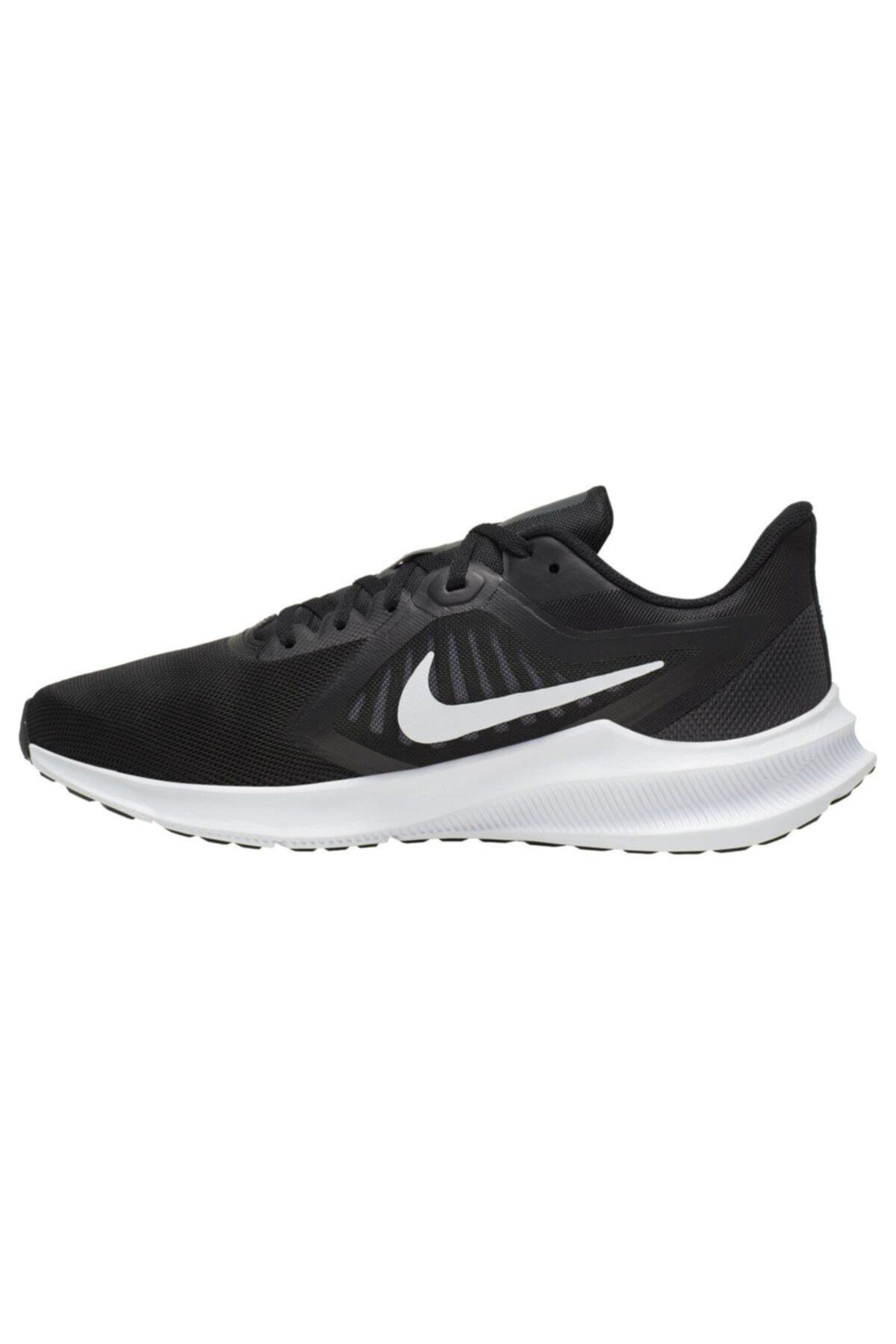 Nike Erkek Siyah Downshıfter Spor Ayakkabı 2