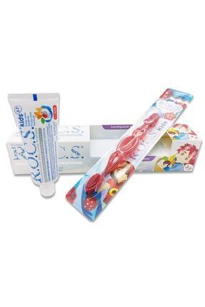 R.O.C.S. 3-7 Yaş Için Diş Fırçalı Macun Seti