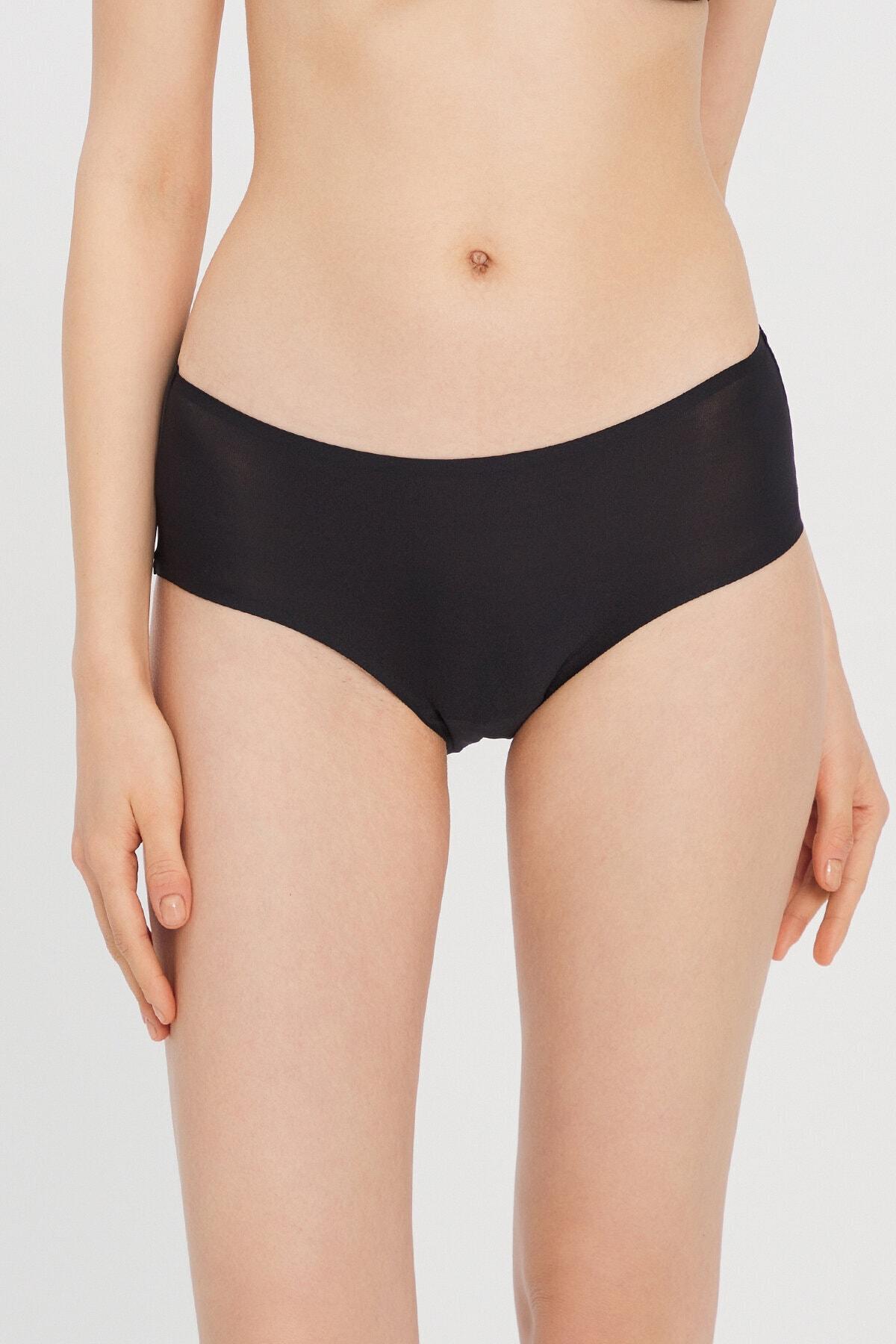 Penti Kadın Siyah Basic Cover Bikini Altı 1
