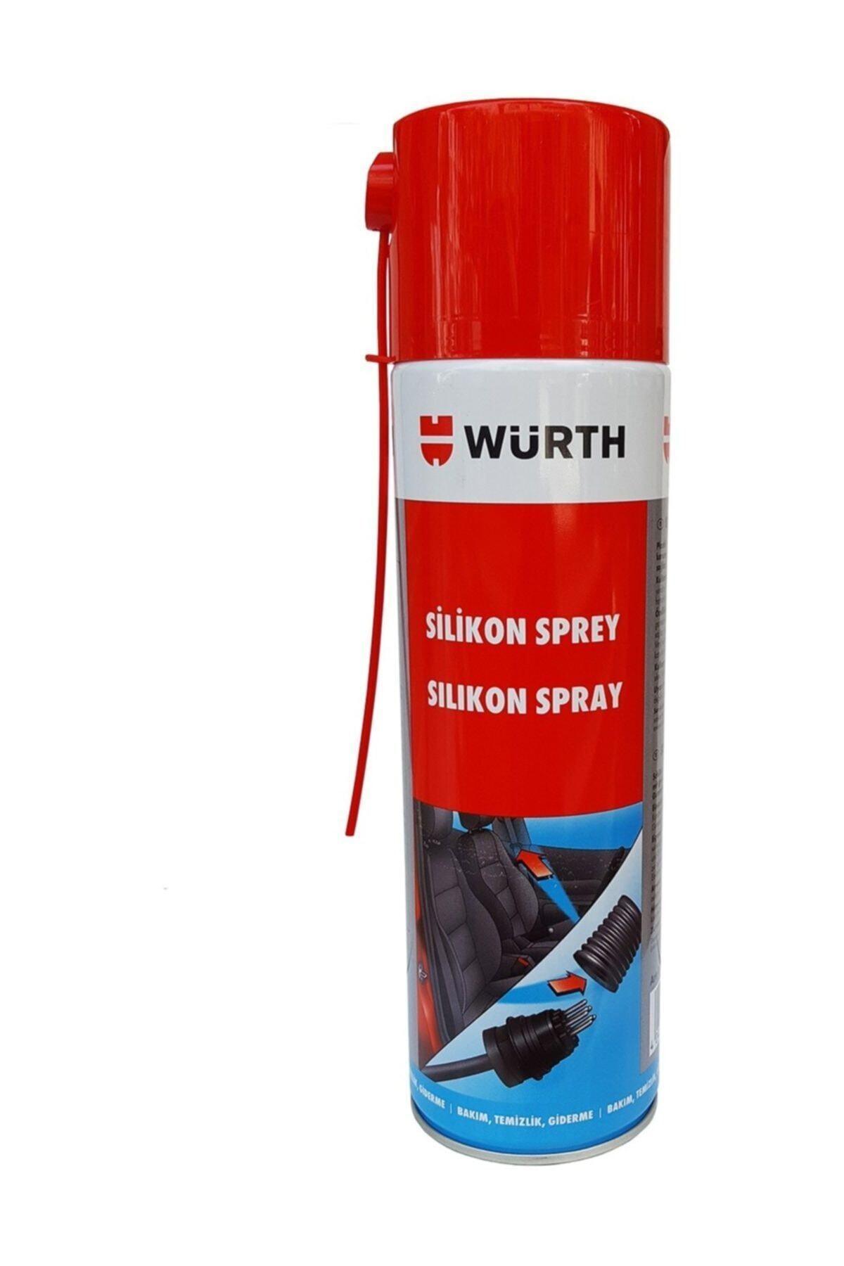 Würth Silikon Sprey 500 Ml. Made In Germany 1