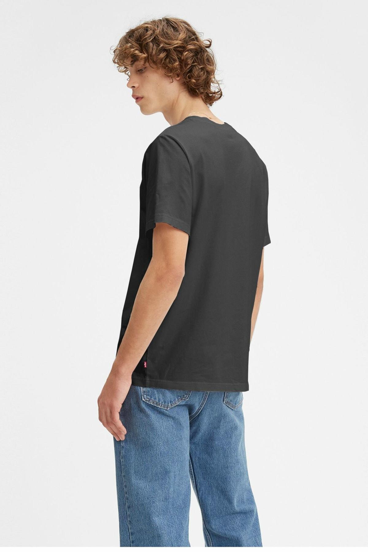 Levi's Erkek Siyah T Shirt 2