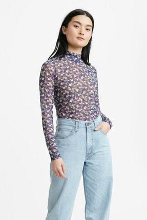 Levi's Qs Mesh Layering Top Tbd15 Çok Renkli Kadın Tişört