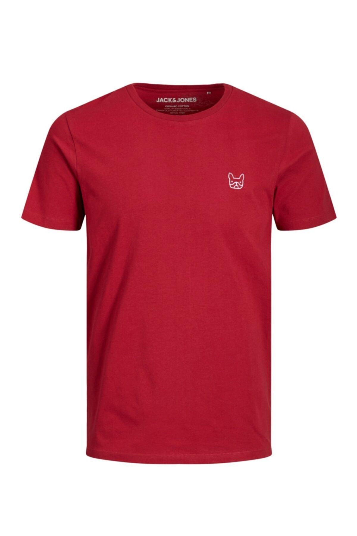Jack & Jones 12164931 Erkek Jjedenım Logo Tee Ss O-neck Noos Tops T-shirts 1