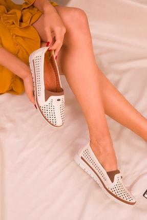SOHO Bej Kadın Casual Ayakkabı 16018