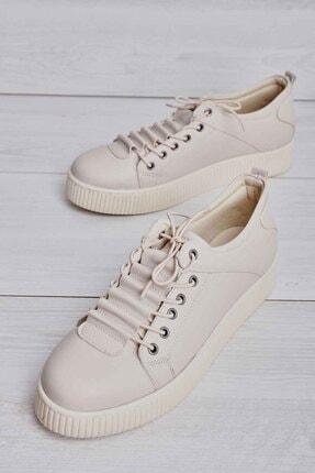 Bambi Bej Kadın Sneaker K01586030209