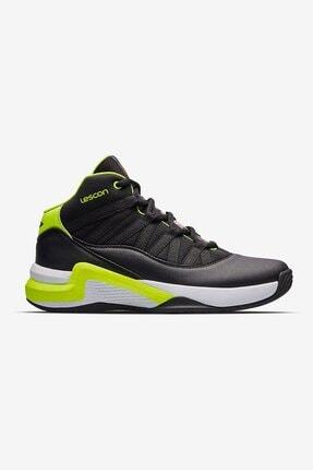 Lescon Çakır Shoes Siyah Yesil Bounce Unisex Basketbol Ayakkabısı