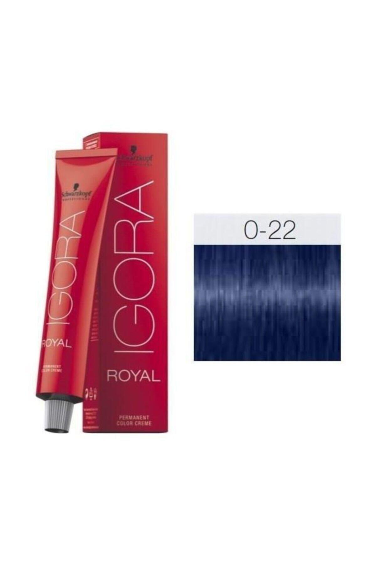 Igora Royal Mix Saç Boyası 0-22 Turuncu Azaltıcı 60 ml 1