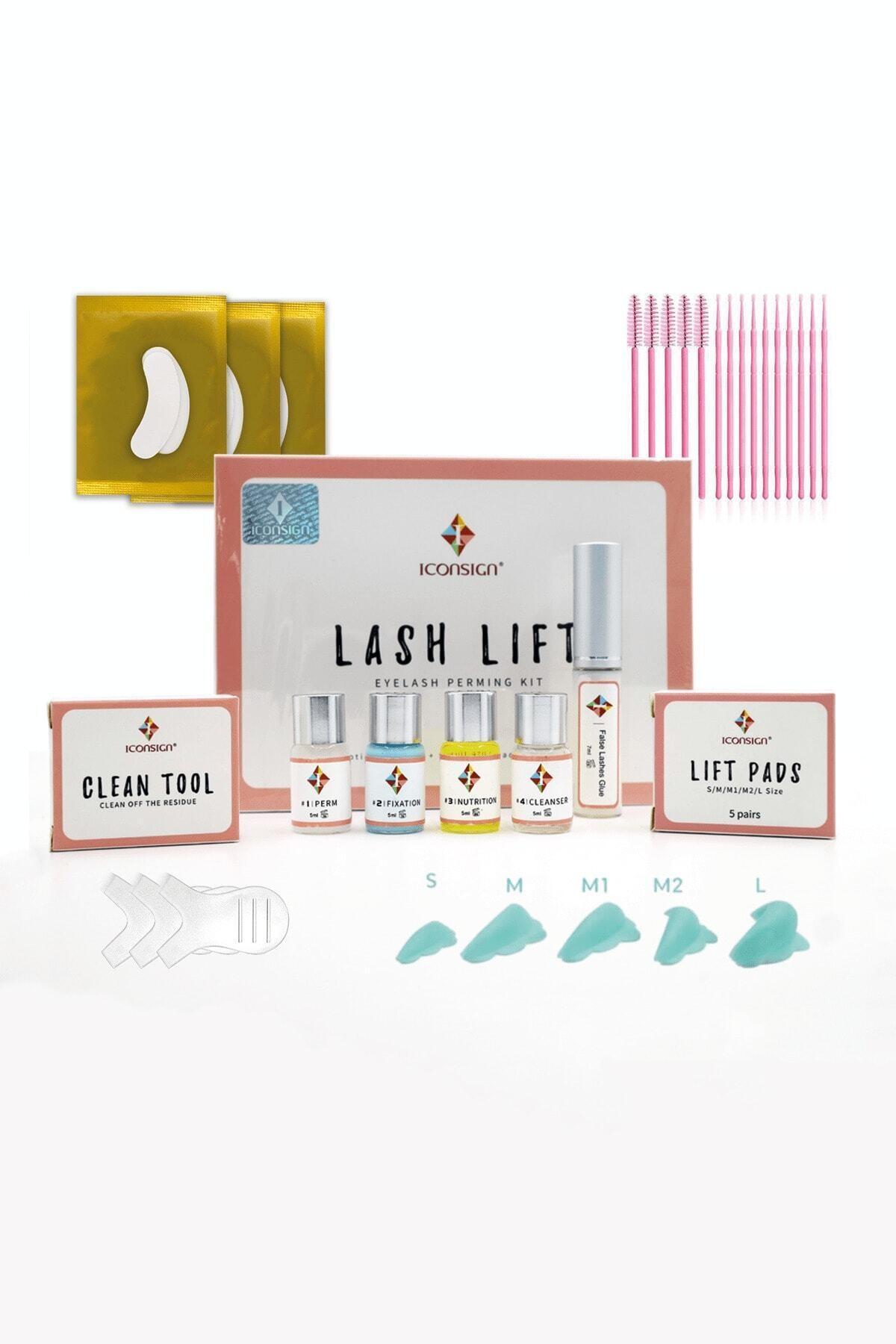 iconsign ® Lash Lift Kirpik Lifting Seti Kaş Kirpik Perma Full Set 2