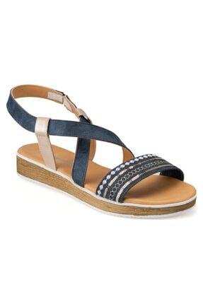 Polaris Kadın Kot Sandalet