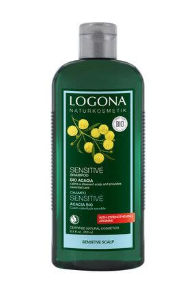 Logona Organik Hassas Şampuan - Organik Akasya Özlü - 250Ml