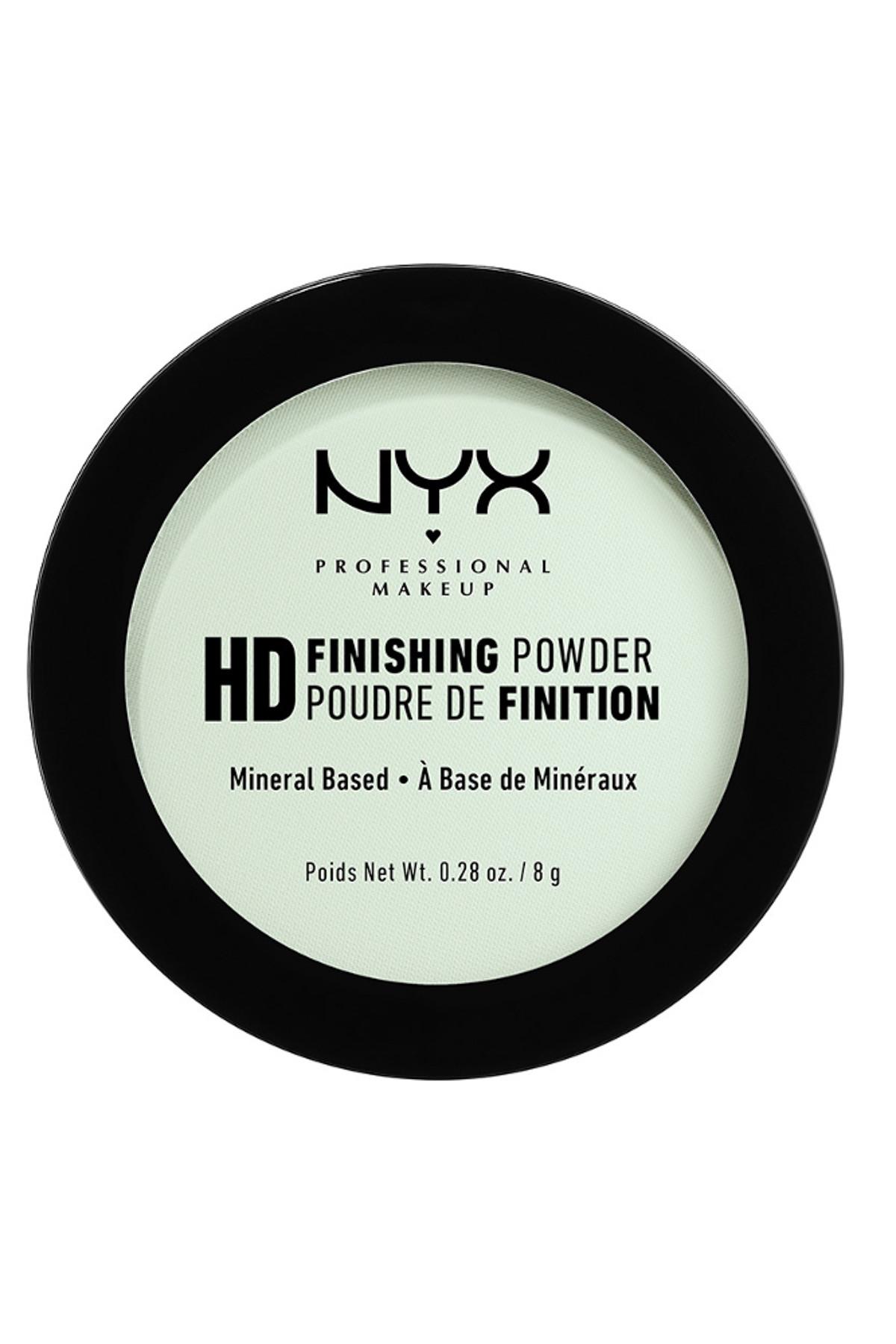 NYX Professional Makeup Sabitleyici Pudra - High Definition Finishing Powder Mint Green 43 g 800897834685 2