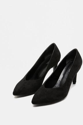 Koton Kadın Siyah Klasik Topuklu Ayakkabı 9KAK22024OA
