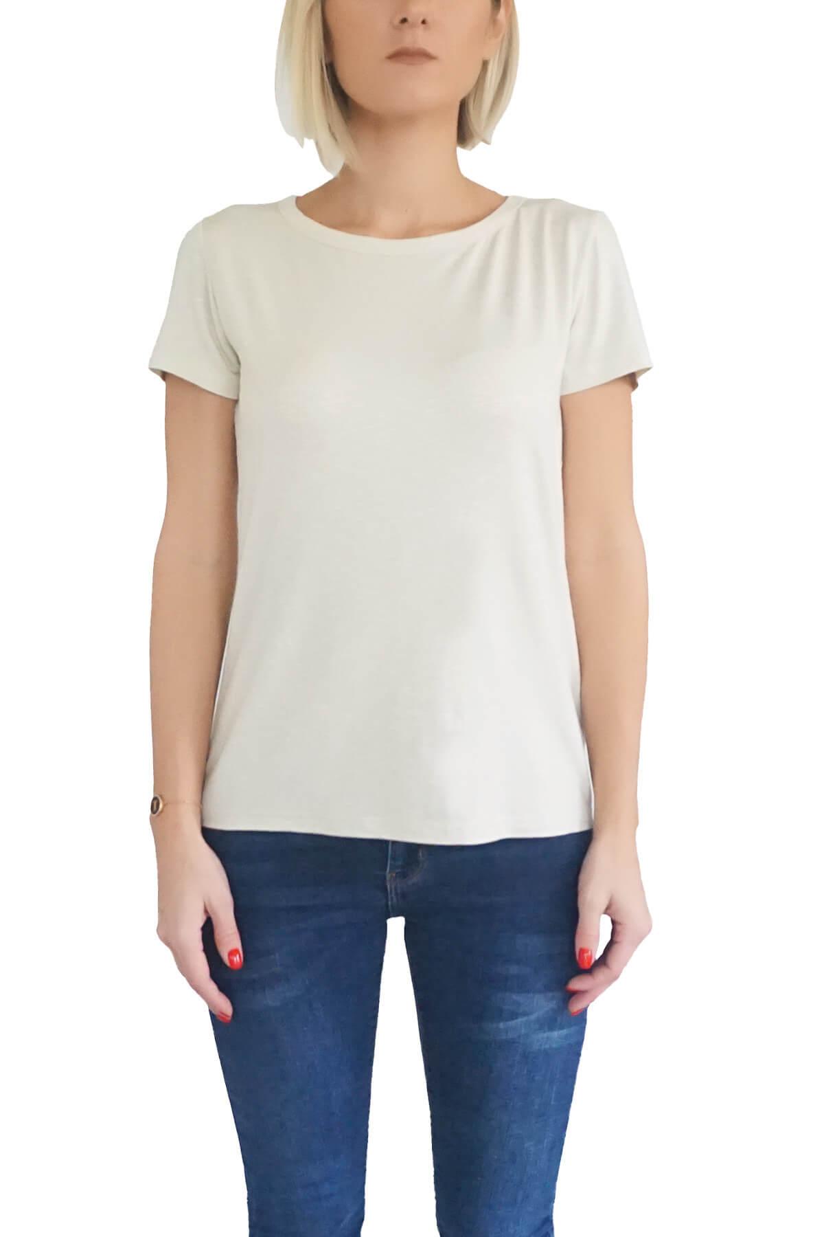 MOF Kadın Taş T-Shirt BYT-T 1