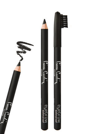 Pierre Cardin Suya Dayanıklı Şekillendirici Kaş Kalemi - Eyebrow Pencil Siyah 8680570258159