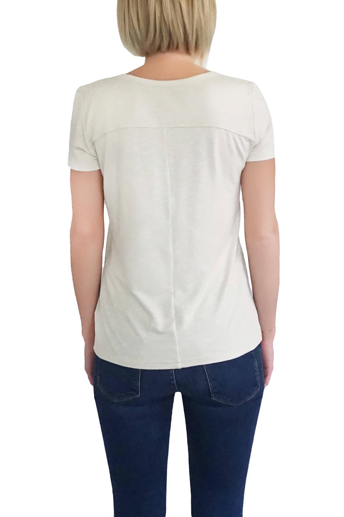 MOF Kadın Taş T-Shirt BYT-T 2