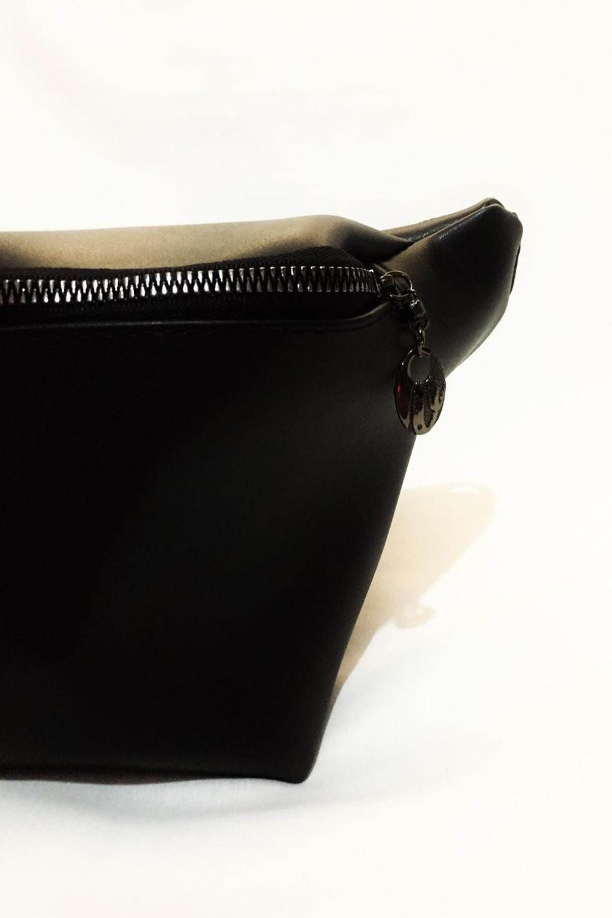 Dr. Stone Marka Kadın Siyah Rengi Deri Bel Çantası Xybdr122 2