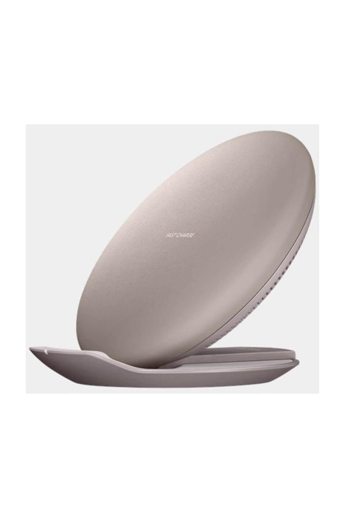Samsung Kablosuz Hızlı Şarj Standı (Yatay/Dikey Kullanım) (Altın Sarıs 1