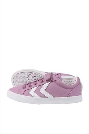 HUMMEL Hummel DEUCE COURT JR Lila Beyaz Kız Çocuk Sneaker 100267179