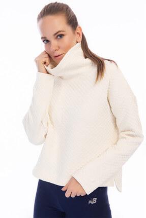 New Balance Kadın Sweatshirt - WT83127 - WT83127-SST