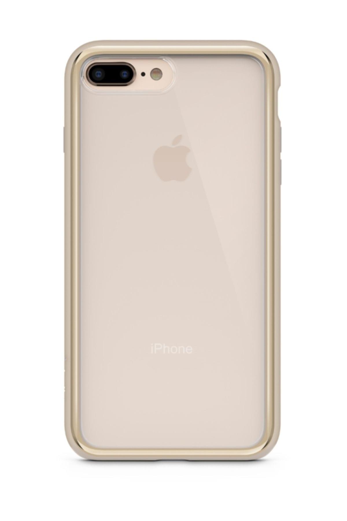 Belkin F8W850BTC02 SheerForce iPhone 7/8 Plus Kılıf Altın 1