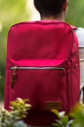 Fudela Kadın INQ Claret red Backpack Sırt Çantası Fİ03