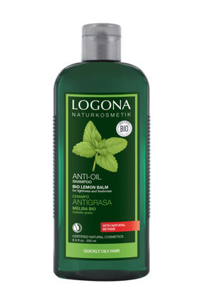 Logona Yağ Dengesini Sağlayan Şampuan - Melisa Özlü 250 ml