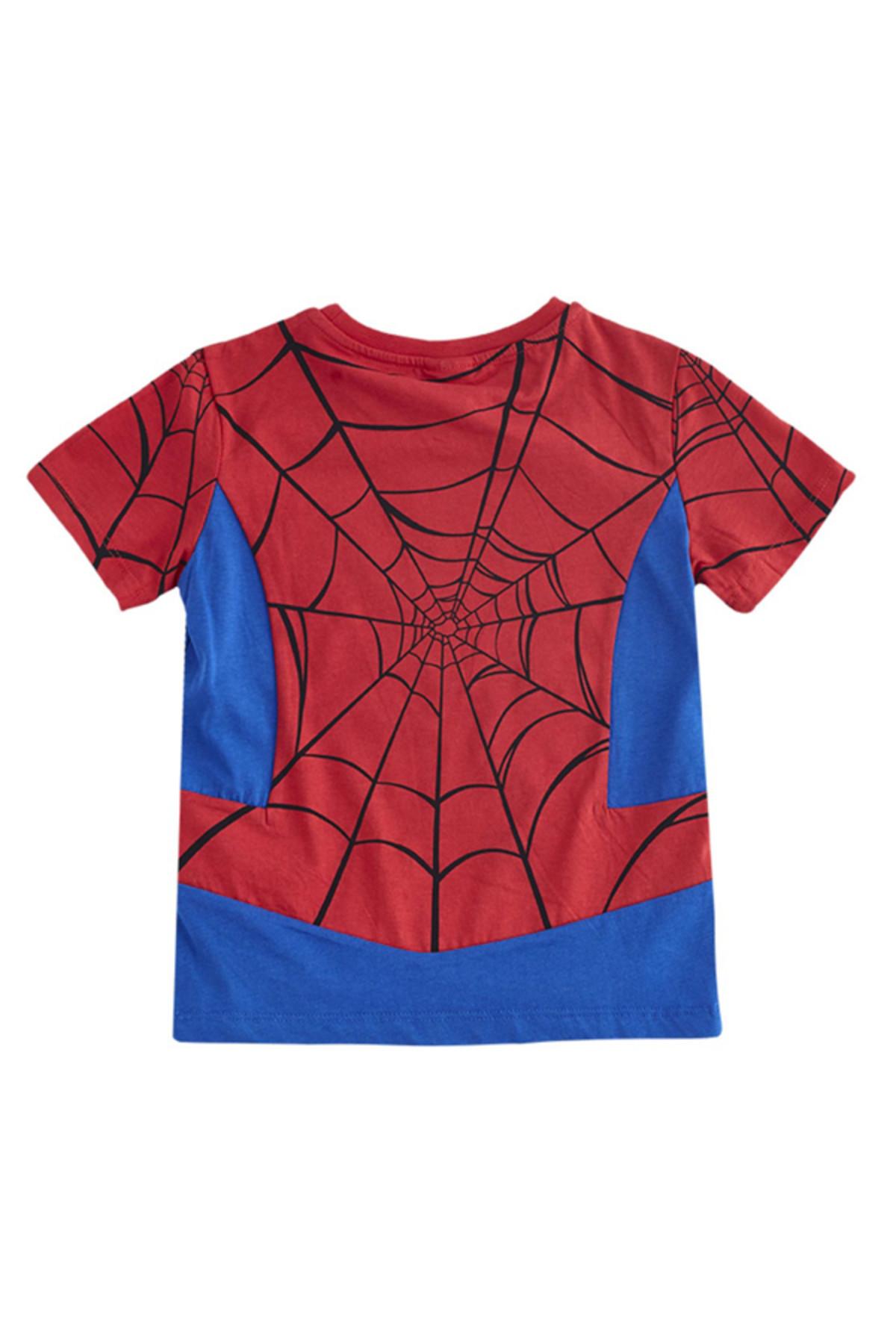 Soobe Ultimate Spider-Man Kısa Kol T-Shirt  Kırmızı   15YECTSRT1324_17-1563 2