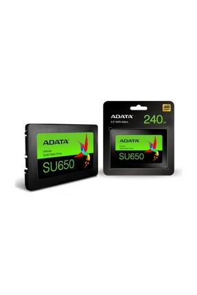 "Adata SU650 3D NAND 2.5"" Sata 3.0 Ssd Disk 240GB ASU650SS-240GT-R"