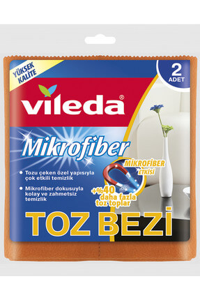 Vileda Microfiber Toz Bezi 2'li