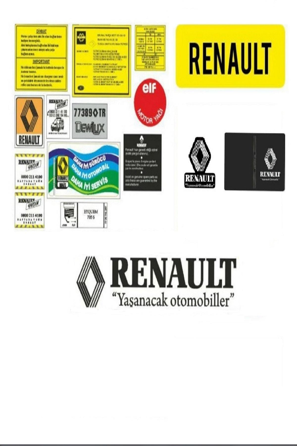 etikettakimi Renault Etiketleri 1