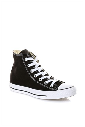 converse Unisex Siyah Chuck Taylor Allstar Sneaker M9160C