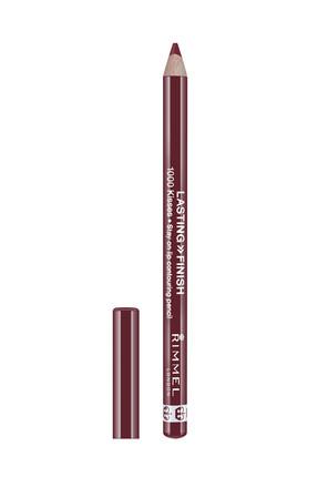 RIMMEL LONDON Dudak Kalemi - Lasting Finish 1000 Kisses Lip Liner 063 Black Tulips 1,2 g 5012874115310