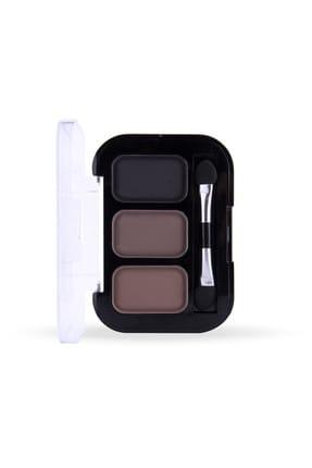Cocosh She 3'lü Kaş Farı - Eyebrow High-Brow True Color 03 Dark  8681569700321