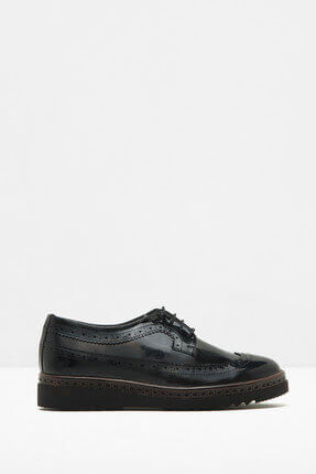 Koton Kadın Siyah Ayakkabı 7KAL21005AA