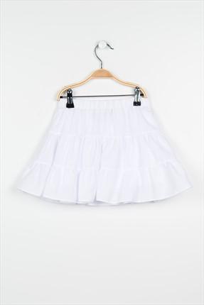Pitti Kız Çocuk Beyaz Etek 92003