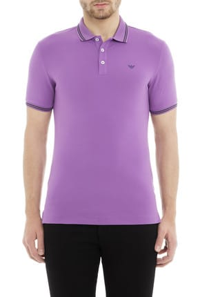 Emporio Armani Mor Erkek T-Shirt 8N1F30 1JPTZ 0861